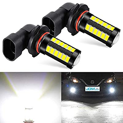 JDM ASTAR Bright White Output 5730 33-SMD H10 9145 9140 9050 9155 High Power Super Bright 360 Beam Led Fog Light Bulbs With Projector: Automotive