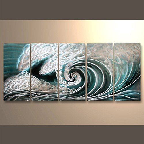 Handmade Popular Sea Weaves Metal Wall Art Decor With Metal Hanger Directly 24Hx65L