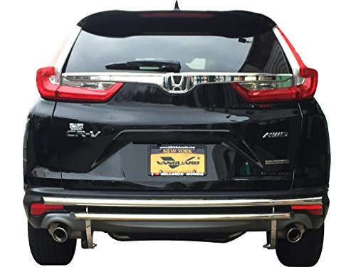VANGUARD Off Road VGRBG-1278-1340SS For Honda CRV 2017-2019 Rear Bumper Guard Stainless Steel Double Layer Style