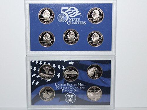 2007 S US Mint State Quarter Proof Set Gem Uncirculated