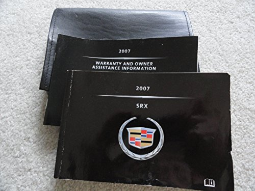 2007 Cadillac SRX Owners Manual Guide Book