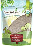 Organic Whole Buckwheat Flour — Non-GMO, Unbleached, Unbromated, Unenriched, Stone Ground, Bulk, Powder, Meal (by Food to Live) (1 Pound)