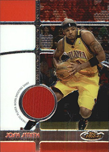 2005-06 Finest Fact Relics #JS Josh Smith Game Jersey Card Serial ()