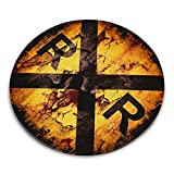 Railroad Crossing Symbol Sign - Metal Tin Traffic