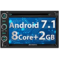 PUMPKIN Android 7.1 Car Stereo DVD Player 2GB RAM for Ford F150 Explorer Mustang Fusion Escape Expedition Edge with Android Auto, GPS, WiFi, Support Backup Camera, Touch Screen