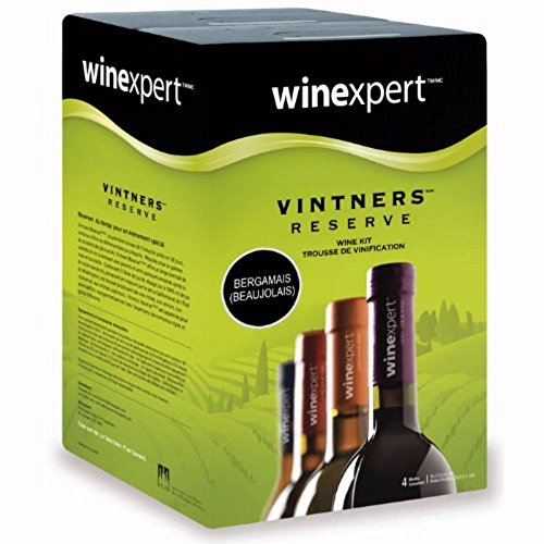 Midwest Homebrewing and Winemaking Supplies Bergamais (Beaujolais) (Vintner's - Wine Vintners Box