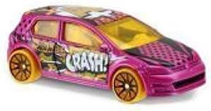 Hot Wheels 2017 HW Art Cars Volkswagen Golf MK7 111/365, Pink