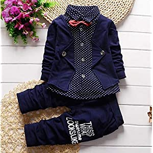 Blazer Navy Shirt and Pant Suit