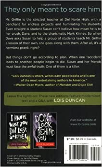 an analysis of the novel killing mr griffin by lois duncan The novel killing mr griffin by: lois duncan is a story about the plot of  kidnapping the english teacher of del norte high school being a student of del  norte.