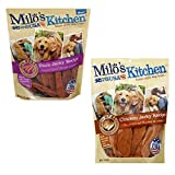 Cheap Milos Kitchen Simply Chicken Jerky Dog Treat (2 Flavor Jerky Pack, 30 oz.)