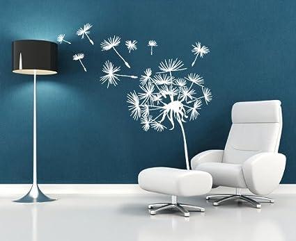 Decorazioni Per Pareti Adesive.Adesivi Murali Soffioni Decorativi Decorazione Parete Adesivi Per Muro Stickers Misure 116x120 Cm
