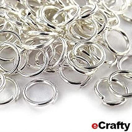 5mm Silver Plated Jump Ring Strong Jumpring for Pandent Jewellery Making Craft