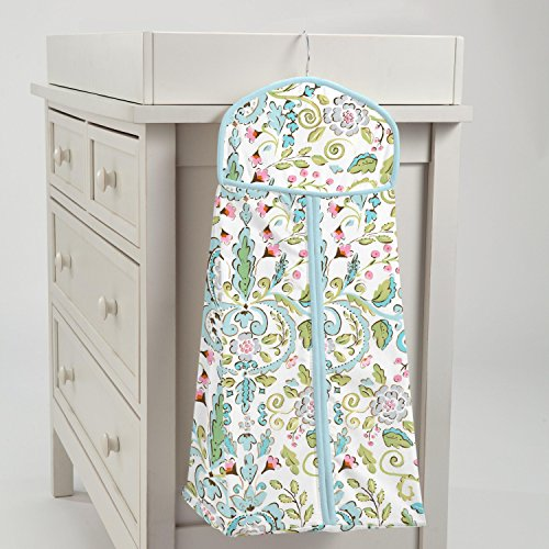 Carousel Designs Bebe Jardin Diaper Stacker by Carousel Designs
