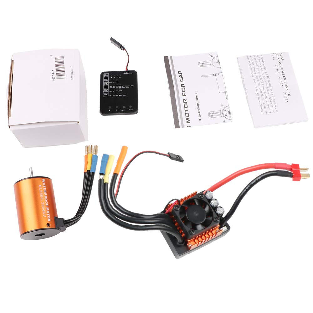 Crazepony-UK RC Car Program Card Electronic Speed Controller Programmer for RC 2