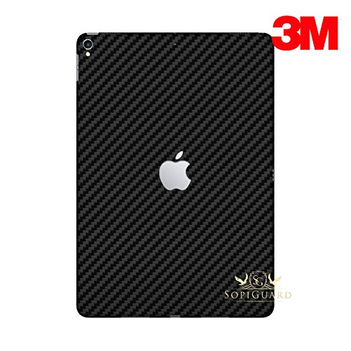 - SopiGuard for Apple 2nd Generation iPad Pro 12.9 (A1670) Carbon Fiber Rear Panel Precision Edge-to-Edge Coverage Easy-to-Apply Vinyl Skins (3M Carbon Black)
