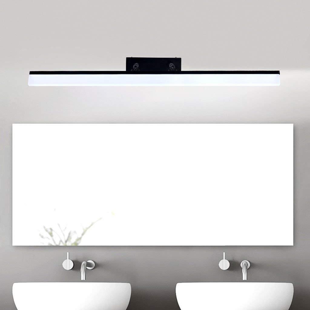 Wall light LED Spiegelschrank Spezielle Lampen, Badezimmer Make-Up Licht Spiegelschrank Lampe Waschbecken Lampe Spiegel Spiegel Lampe Wasserdicht Schwarz, Wasserdichte Wandleuchte