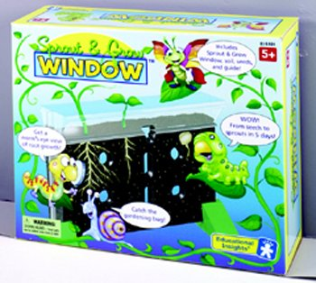 4 Pack EDUCATIONAL INSIGHTS SPROUT & GROW WINDOW GR K & UP