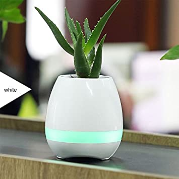 Amazon Pohiya Wireless Music Flower Pot Home Garden Bluetooth