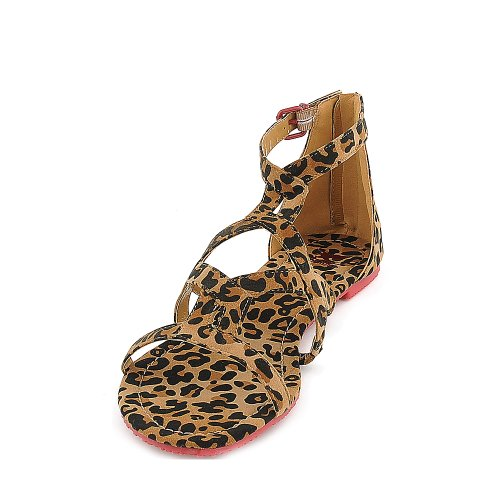 bdbfe8d5a6e Shiekh Womens 058 Gladiator Sandal Sandal - Leopard Print Red Size 10 - Buy  Online in Oman.