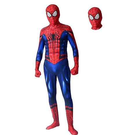 BLOIBFS Traje Spiderman Niño,Vengadores Superhéroe Disfraz ...