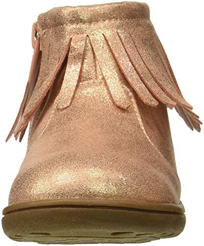 Pictures of carter's Girls' Cata3 Rosegold Fringe Chukka Boot, Rose Gold, 9 M US Toddler 5
