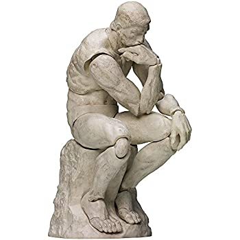 FREEing Table Museum: The Thinker (Plaster Version) Figma Action Figure