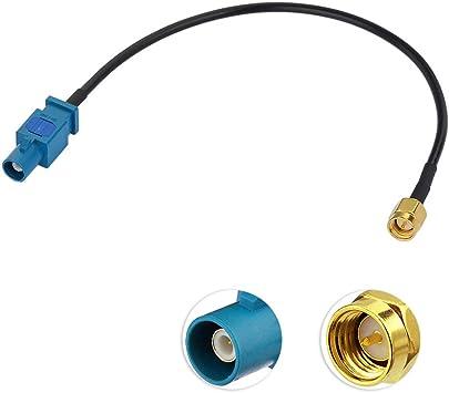 Eightwood Fakra Dab Antenne Sma Kabel Fakra Z Stecker Elektronik