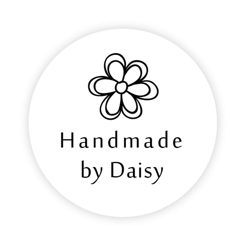 Personalised business handmade by name stickers seals your logo labels address transport logistik