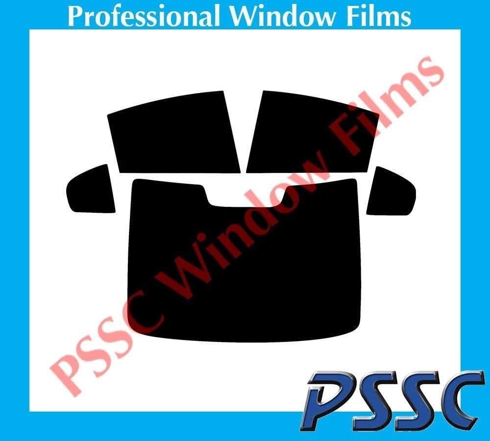 PSSC Pre Cut Rear Car Window Films for Volvo S60 Saloon 2010 to 2016 05/% Very Dark Limo Tint
