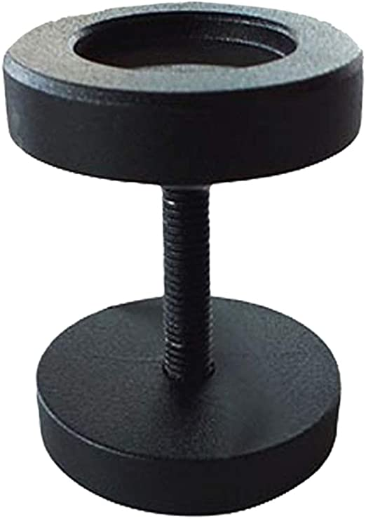 Cicony - Tirador para Puerta de Granero, Acero Fundido, Color Negro, para Puerta de Madera, Puerta corredera, cobertizos de Garaje: Amazon.es: Hogar