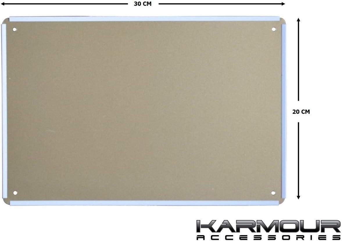 Karmour Accessories - Letrero para cafeterías, bares, cuevas de hombre y garajes: Amazon.es: Hogar