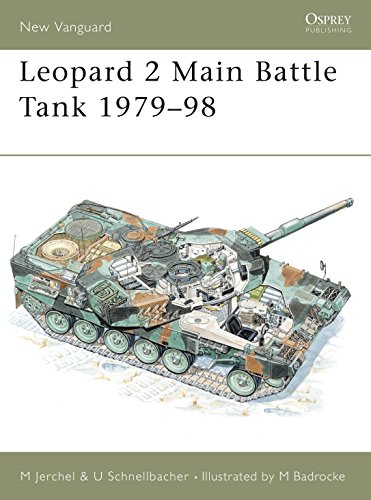 Leopard 2 Main Battle Tank 1979–98 (New Vanguard) ()
