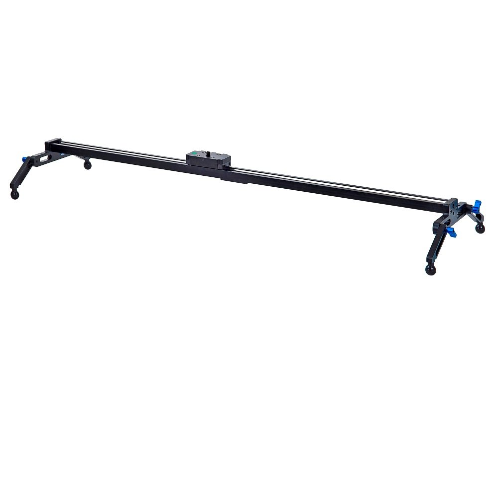 "31.5""/80cm Camera Track Dolly Slider, Kingjue Video Stabilizer Rail System with 4 Bearings for DSLR Video Camera by KINGJUE"