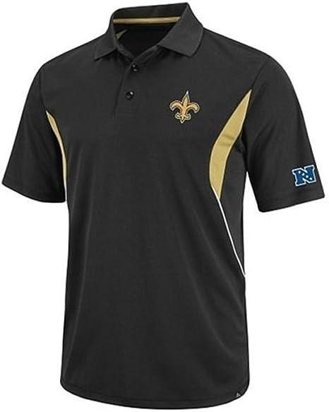 premium selection cf654 e75f5 Orleans Saints NFL Mens Field Classic Dri Fit Polo Shirt Big & Tall Sizes