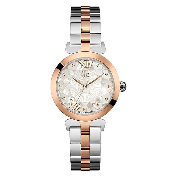 GUESS COLLECTION GC LADYBELLE RELOJ DE MUJER CUARZO 34MM Y19002L1: Amazon.es: Relojes