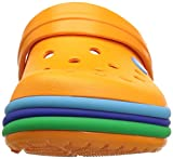 Crocs Kids' Crocband Rainbow Band Clog
