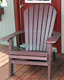Cheap PHAT TOMMY Recycled Poly Deluxe Folding Adirondack Chair Eco Friendly Merlot