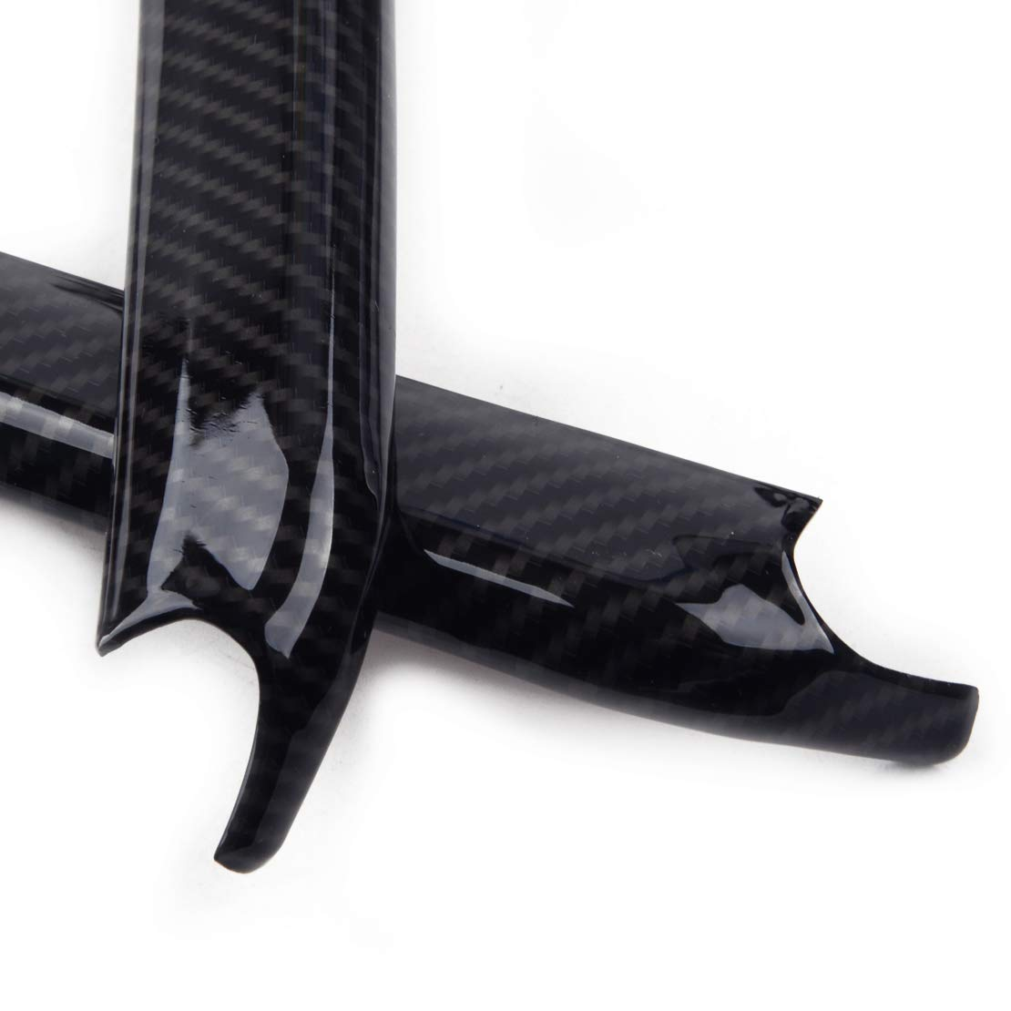 CITALL Kohlefaser ABS Autoarmlehne Box Dekoration Streifenverkleidung