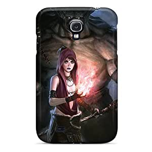 Flexible Tpu Back Case Cover For Galaxy S4 - Dragon Age Origins
