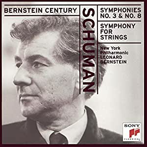 "Schuman: Symphonies Nos. 3, 5 (""Symphony for Strings"")  & 8"