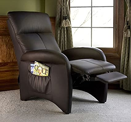 Recliner Chair, This Comfortable Leather Reclining Footrest Lounge  Furniture Is on Sale Now and Looks Beautifully on Your Living Room, Office  or ...