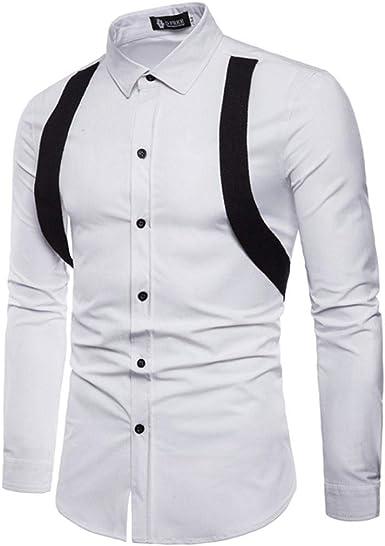 Camisas Casual Hombre Manga Larga, Covermason Trajes de otoño Casuales para Hombres de Manga Larga: Amazon.es: Ropa y accesorios