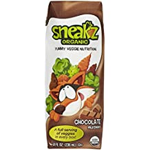 Sneakz Organic Organic Chocolate Milk Shake, Ready To Drink, 8 oz, 12 ct