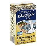 Eden Soymilk Unsweetened Organic 32.0 OZ(Pack of 2)