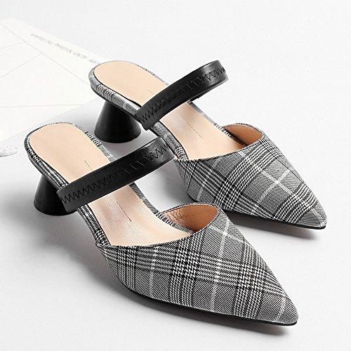 e 37 sandali baotou moda in special NHGY tacchi shaped metà metà vdCwv0qa
