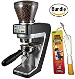 Baratza Sette 270W - Conical Burr (with Grounds Bin and built-in PortaHolder) & Brushtech Coffee Grinder Dusting Brush (Bundle)
