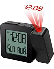 Oregon Scientific RM338PX Orologio con Proiezione e Doppio Allarme Sveglia, Nero, Funzionamento a batteria