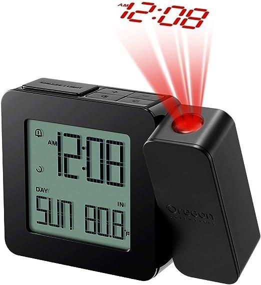 Oregon Scientific RM338PX Relojo con proyección y alarma dual ...
