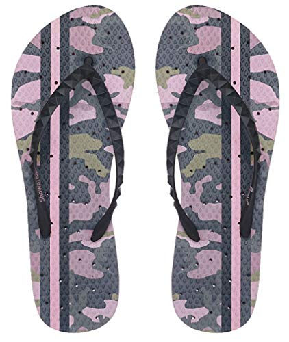 3673e5a80a4b Showaflops Girls  Antimicrobial Shower   Water Sandals for Pool