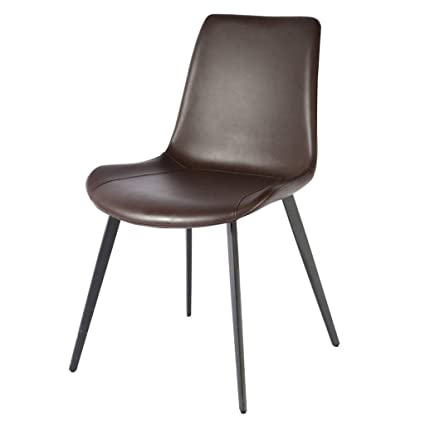 Groovy Amazon Com Faux Leather Chairs Concise Dining Chairs Unemploymentrelief Wooden Chair Designs For Living Room Unemploymentrelieforg